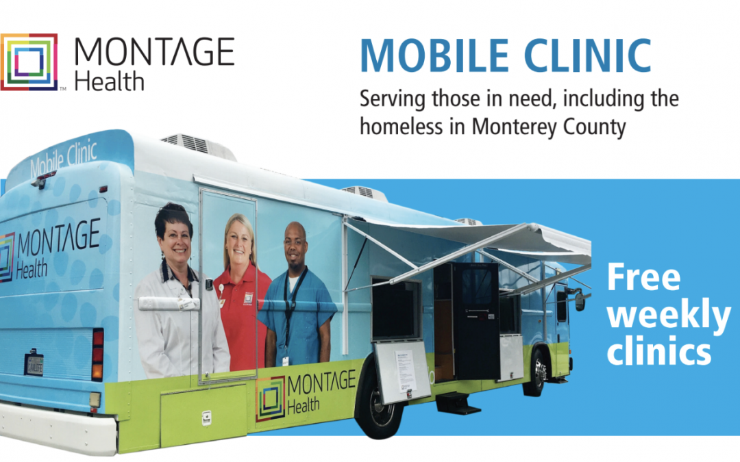 Free Mobile Clinic in Marina – Monday & Wednesday