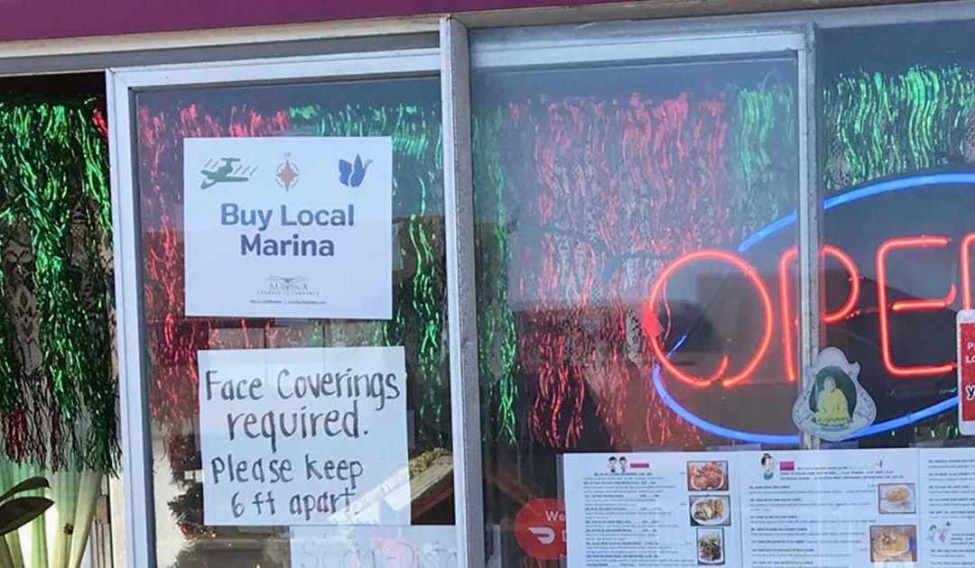 Marina Chamber's Buy Local Marina Campaign is in Full Effect